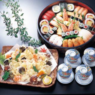 天ぷら入盛合せ